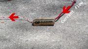 دادن 220 ولت به باتری 1.5ولتی