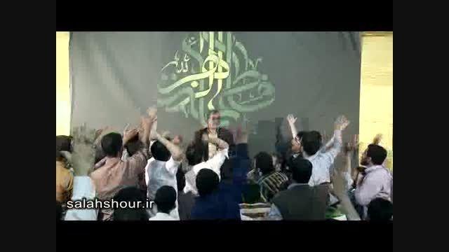 شعر خوانی زیبای حاج ولی الله کلامی در هیئت فاطمیون قم