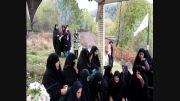 دسته روی هیئت عزاداران روستای کارنام به روستای مزده