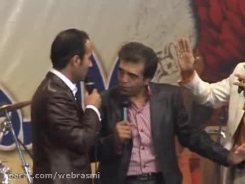 بگو و بخند یک شومن و یک مجری - امیر افشار حسن ریوندی