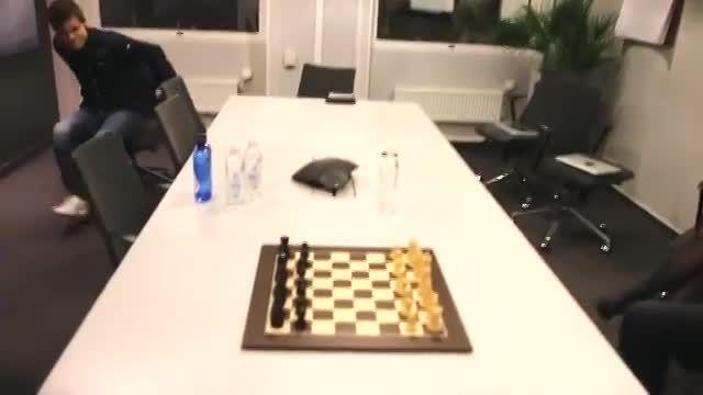 شطرنج برره ای مگنوس كارلسن ( قهرمان شطرنج جهان ) !!!