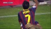 رایو وایاکانو Vs بارسلونا | 0 - 2 | گل پدرو