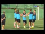 راز تمرین بارسلونا