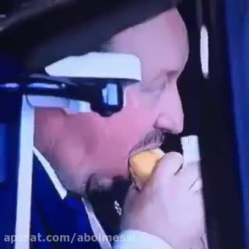 واکنش عجیب و دیدنی رافا بنیتز پس از خوردن گل چهارم