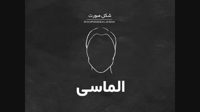 شکل صورت شما چیست؟ | CHIPOOSH.COM