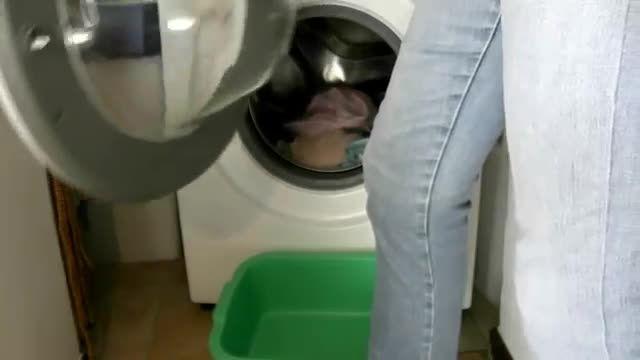 ازمایش جالب به کمک ماشین لباسی شویی و چراغ چشمک زن