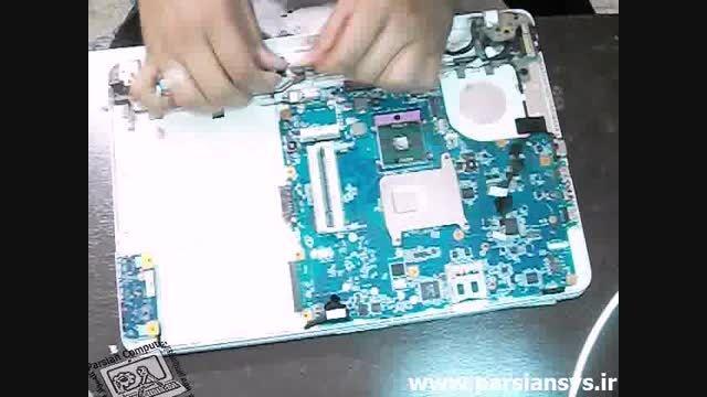 آموزش بازکردن لپ تاپ sony vaio pcg7184l