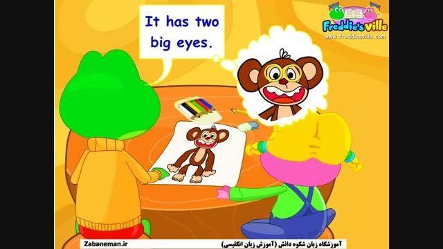 آموزش انگلیسی اعضای بدن zabaneman.ir