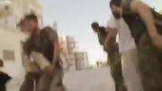 شکار دو تروریست ازاد با یک تیر تک تیر انداز سوری