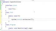 0030 آموزش برنامه نویسی سی شارپ - بخش اول: مقدمات - قسمت سیم: رابط Interface