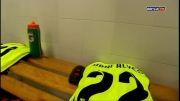 رختکن بارسلونا قبل از بازی با آلمریا