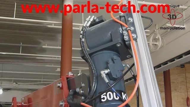 ربات متحرک حمل و جابجایی شیشه