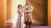 انیمیشن کوتاه ازدواج گیسوکمند با دوبله گلوری | انیمیشن کده