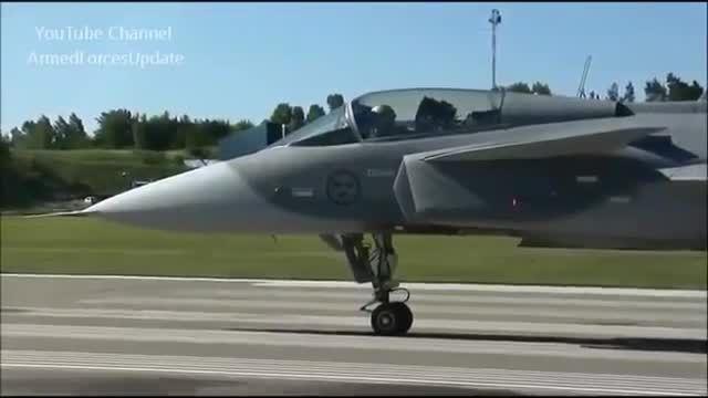 پرواز Saab Gripen