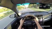 تست تویوتا کمری V6 فیس لیفت 2015