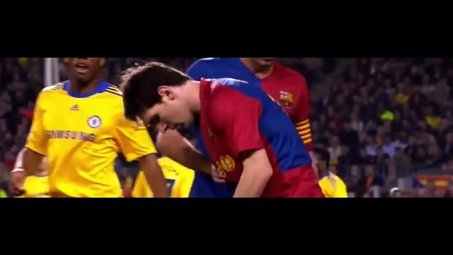 هایلایت کامل بازی لیونل مسی مقابل چلسی (2009)