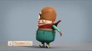 انیمیشن پیل بان   طراحی کاراکتر