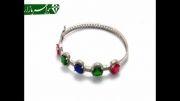 دستبند نقره النگویی زنانه - کد 3992