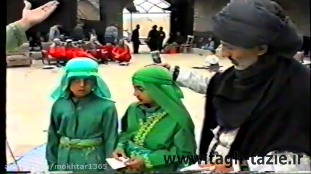 تعزیه جناب مسلم روستای طاق شهرستان دامغان خرداد 1374(3)