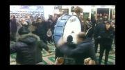 عزاداری دسته حسن چوب در مسجد امام حسن مجتبی(ع)سرخه