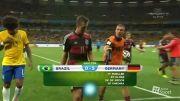 آلمان 7 - 1 برزیل خلاصه