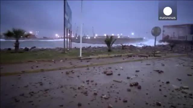 طوفان شدید در شیلی
