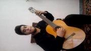 سلطان قلبها با گیتار