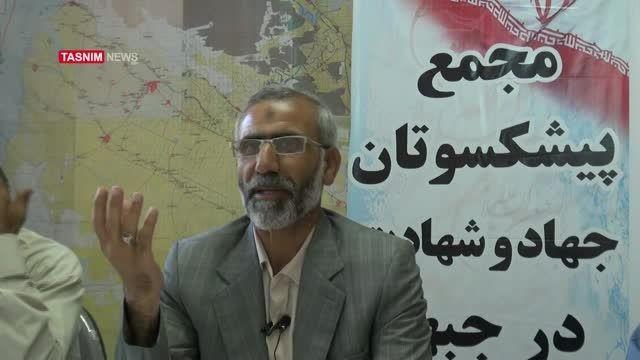 مصاحبه شهید تقوی درباره سوسنگرد و شهید زین الدین