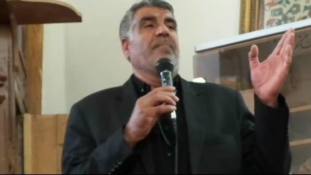 فیلم مداحی آقای خجسته مهربانی در مسجد جامع مهربان