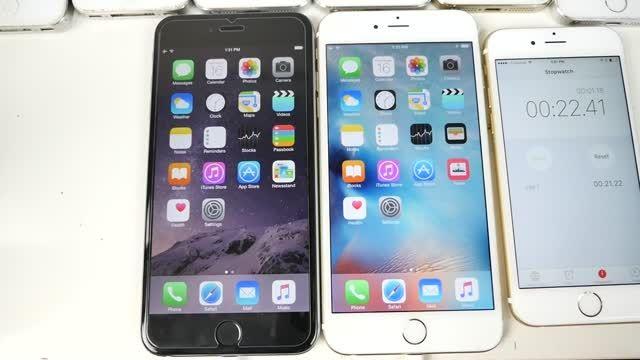 مقایسه سرعت iOS 8.4.1 در برابر iOS 9 اپل