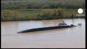 برخورد دو کشتی در آرژانتین حادثه آفرید