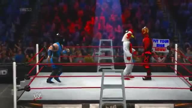 H2O DELIRIOUS WWE2K14 EP.9