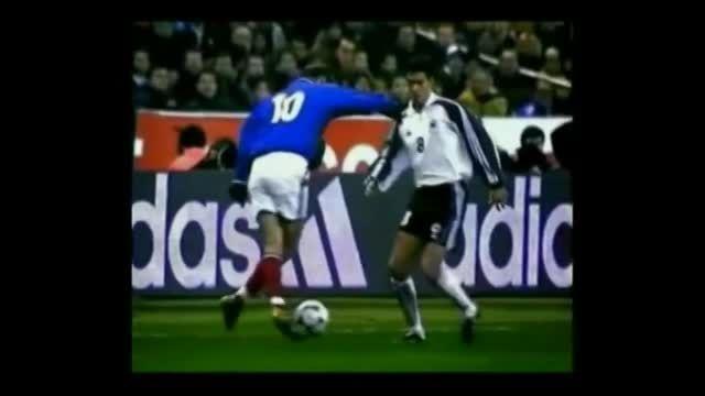 پادشاه فوتبال ...Zinedine Zidane...پادشاه فوتبال