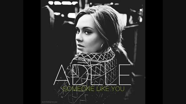 آهنگ بیکلام Someone like you از Adele