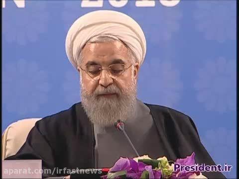 سخنرانی دکتر روحانی در نشست سران صادر کننده گاز
