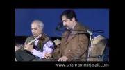 استاد سید حسام الدین سراج و شهرام میر جلالی