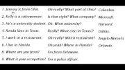مكالمه  انگلیسی در مورد سوال پرسیدن و جواب دادن
