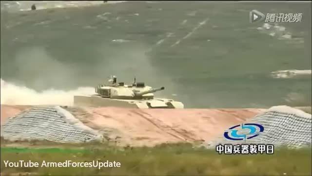 تانک پیشرفته جدید چینی MBT 3000