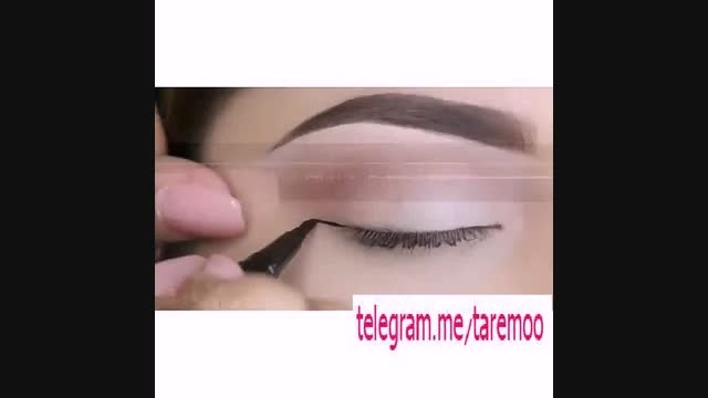 آرایش چشم با خط چشم شیک و زیبا در تارمو