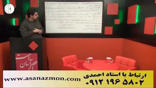 آموزش خط به خط دین و زندگی کنکور استاد احمدی - 3/7