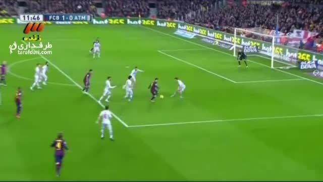 خلاصه بازی بارسلونا 3 - 1 اتلتیکو مادرید