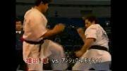مبارزه سریع وقشنگ ماسودا با حریف امریکی     کیوکوشین
