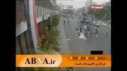 لحظه انفجار انتحاری در میان شیعیان حوثی یمن