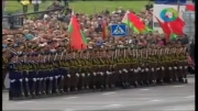رژه رفتن بسیار زیبا از ارتش چین