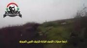 کشته شدن دو شورشی با شلیک دقیق تانک ارتش سوریه