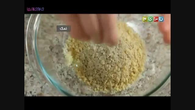 رول بادمجان_آموزش پختن طبخ غذا خوراکی ارزان+فیلم کلیپ