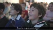 کمپین تبلیغاتی از کودکان برای بزرگسالان