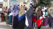 مراسم عبور از زیر علم حضرت امام حسین علیه السلام