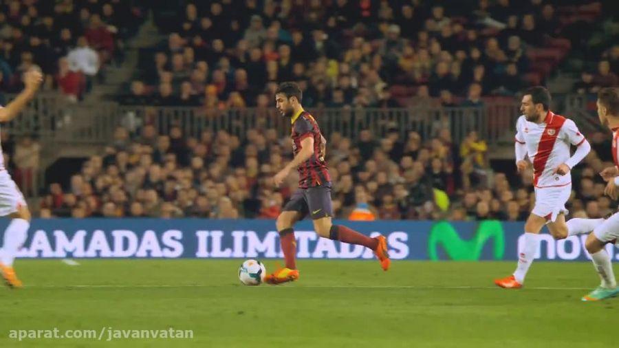 حرکات نمایشی بازیکنان بارسلونا کیفیت 4k