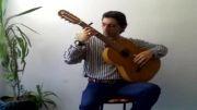 گیتار فلامنکو توسط استاد خضری